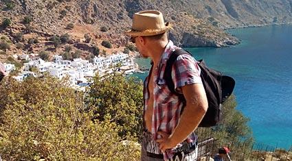 Trekking in Crete